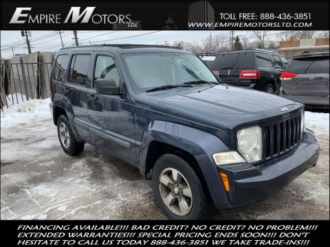 2008 Jeep Liberty for sale at Empire Motors LTD in Cleveland OH