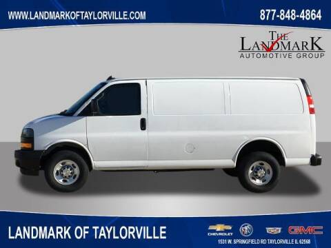 2021 Chevrolet Express Cargo for sale at LANDMARK OF TAYLORVILLE in Taylorville IL