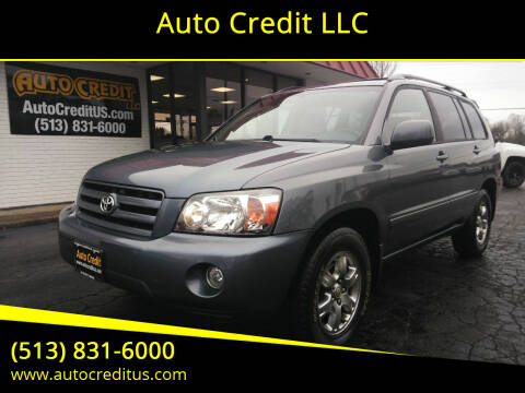 2004 Toyota Highlander for sale at Auto Credit LLC in Milford OH