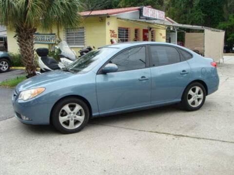 2007 Hyundai Elantra for sale at VANS CARS AND TRUCKS in Brooksville FL