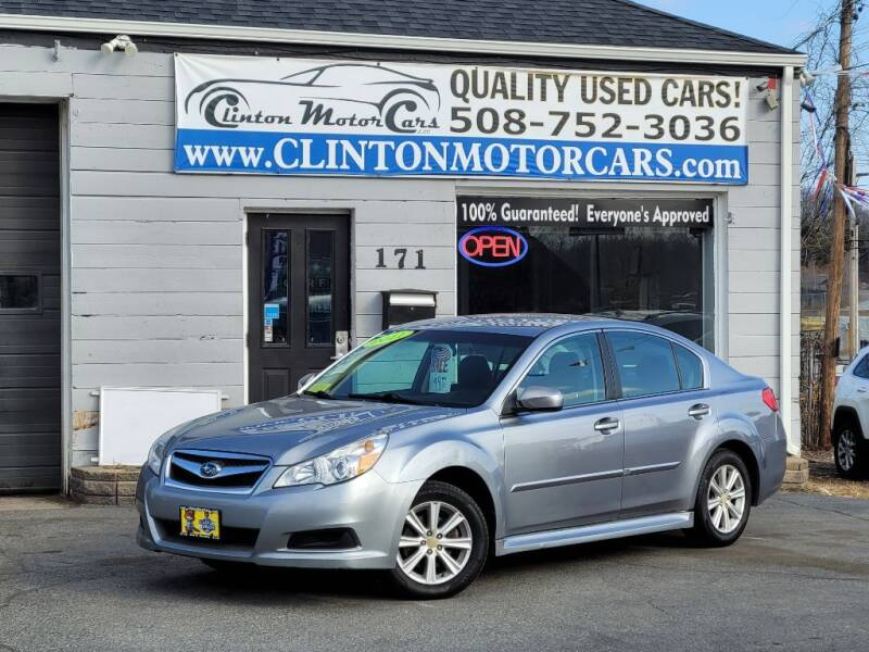 2011 Subaru Legacy for sale at Clinton MotorCars in Shrewsbury MA