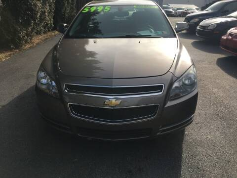 2010 Chevrolet Malibu for sale at BIRD'S AUTOMOTIVE & CUSTOMS in Ephrata PA