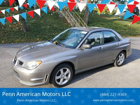 2006 Subaru Impreza for sale at Penn American Motors LLC in Allentown PA