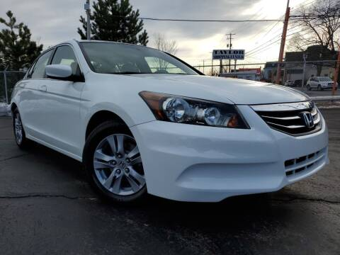 2012 Honda Accord for sale at Dan Paroby Auto Sales in Scranton PA
