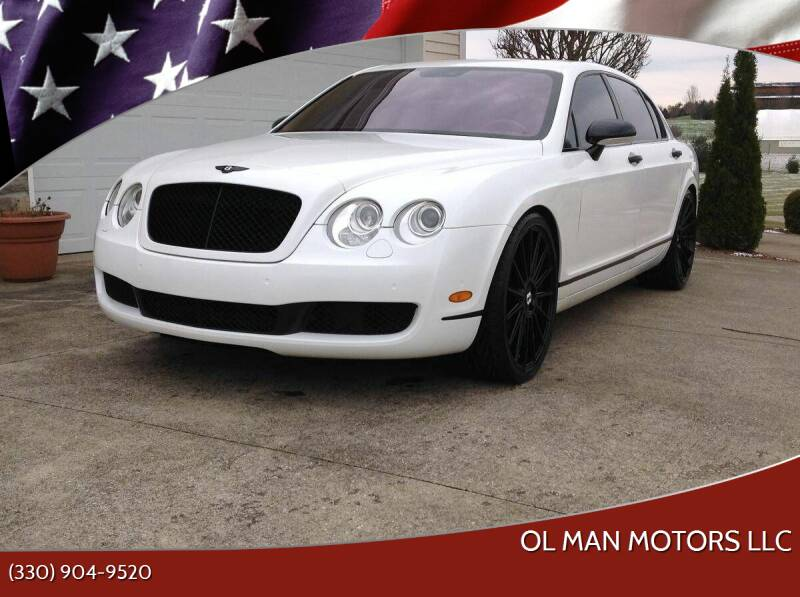 2006 Bentley Continental for sale at Ol Man Motors LLC in Louisville OH
