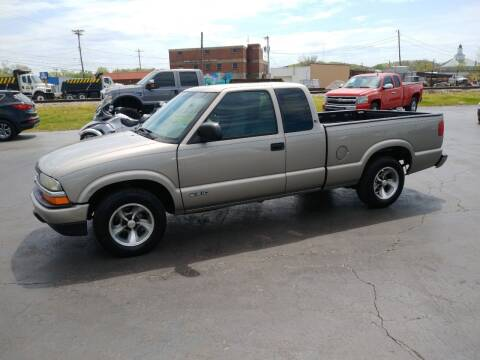 2002 Chevrolet S-10 for sale at Big Boys Auto Sales in Russellville KY