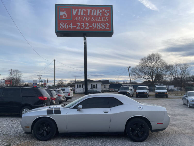 2012 Dodge Challenger for sale at Victor's Auto Sales in Greenville SC