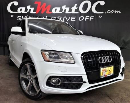 2015 Audi Q5 for sale at CarMart OC in Costa Mesa, Orange County CA