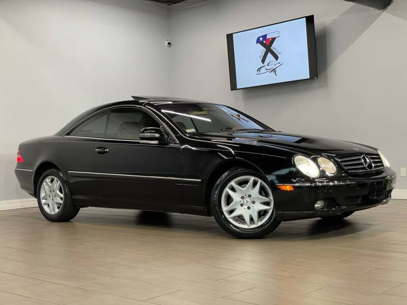 2002 Mercedes-Benz CL-Class for sale at TX Auto Group in Houston TX
