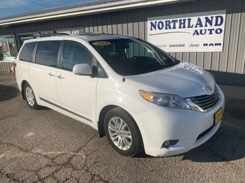 2012 Toyota Sienna for sale at Northland Auto in Humboldt IA