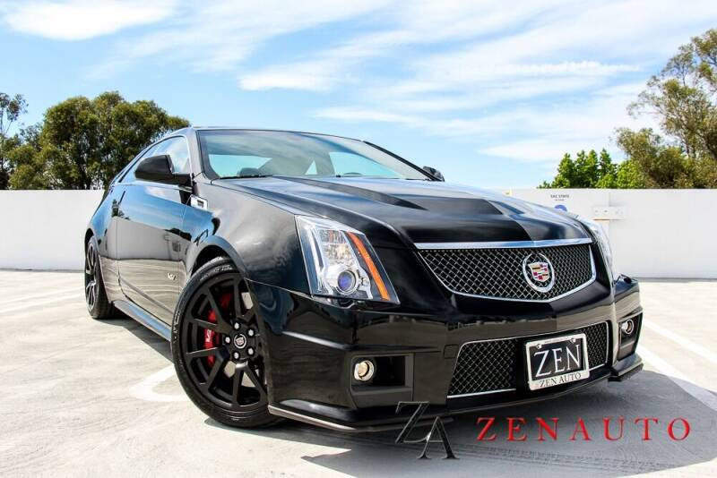 2014 Cadillac CTS-V for sale at Zen Auto Sales in Sacramento CA