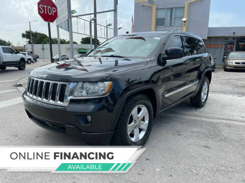 2011 Jeep Grand Cherokee for sale at Global Auto Sales USA in Miami FL
