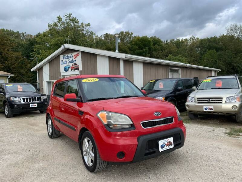2010 Kia Soul for sale at Victor's Auto Sales Inc. in Indianola IA