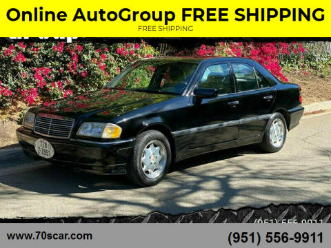 2000 Mercedes-Benz C-Class for sale at Online AutoGroup FREE SHIPPING in Riverside CA