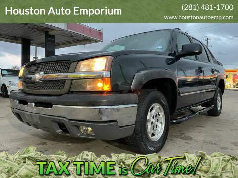 2004 Chevrolet Avalanche for sale at Houston Auto Emporium in Houston TX