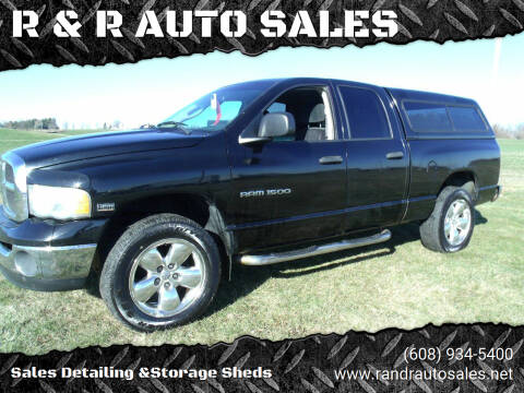2005 Dodge Ram Pickup 1500 for sale at R & R AUTO SALES in Juda WI