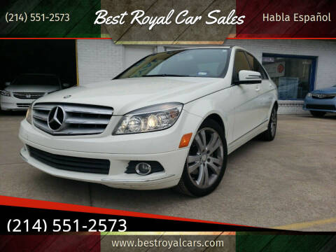 2011 Mercedes-Benz C-Class for sale at Best Royal Car Sales in Dallas TX