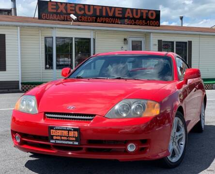 2004 Hyundai Tiburon for sale at Executive Auto in Winchester VA