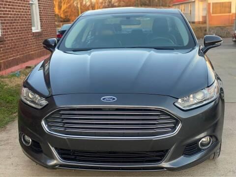 2016 Ford Fusion for sale at Shoals Dealer LLC in Florence AL