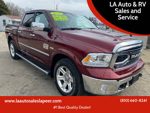 2017 RAM Ram Pickup 1500 for sale at LA Auto & RV Sales and Service in Lapeer MI