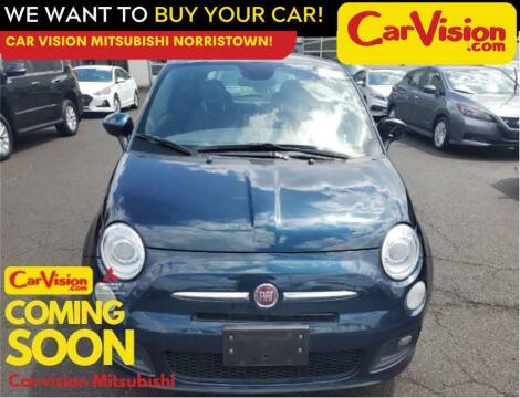 2015 FIAT 500 for sale at Car Vision Mitsubishi Norristown in Norristown PA