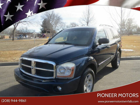 2005 Dodge Durango for sale at Pioneer Motors in Twin Falls ID