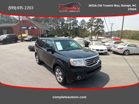 2012 Honda Pilot for sale at Complete Auto Center , Inc in Raleigh NC