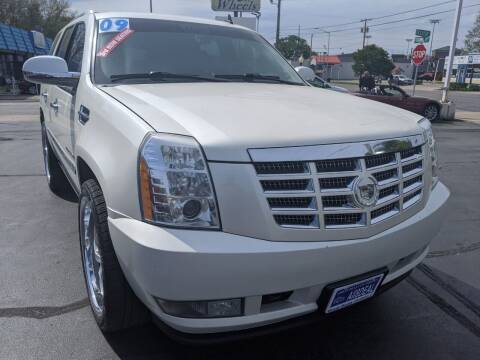 2009 Cadillac Escalade for sale at GREAT DEALS ON WHEELS in Michigan City IN