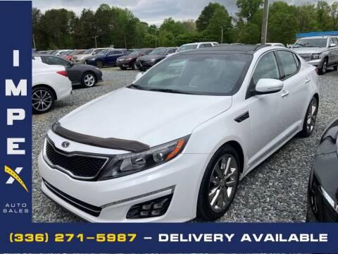 2015 Kia Optima for sale at Impex Auto Sales in Greensboro NC