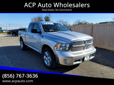 2015 RAM Ram Pickup 1500 for sale at ACP Auto Wholesalers in Berlin NJ
