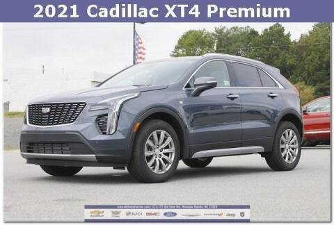 2021 Cadillac XT4 for sale at WHITE MOTORS INC in Roanoke Rapids NC