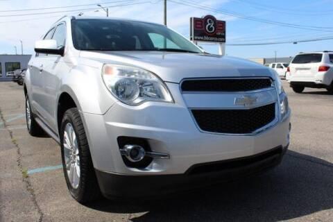 2010 Chevrolet Equinox for sale at B & B Car Co Inc. in Clinton Township MI