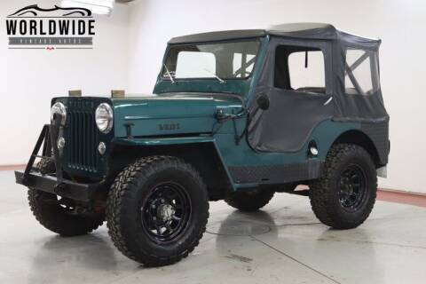 1954 Willys JEEP CJ3B