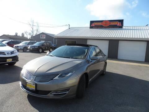 2015 Lincoln MKZ for sale at Grand Prize Cars in Cedar Lake IN