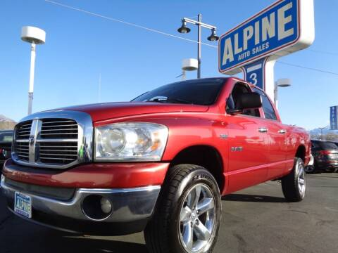 2008 Dodge Ram Pickup 1500 for sale at Alpine Auto Sales in Salt Lake City UT