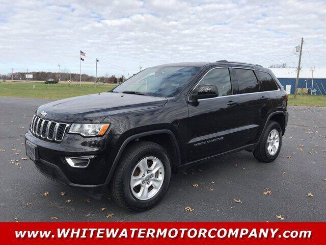 2017 Jeep Grand Cherokee for sale at WHITEWATER MOTOR CO in Milan IN