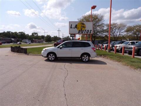 2015 Subaru Forester for sale at L A AUTOS in Omaha NE
