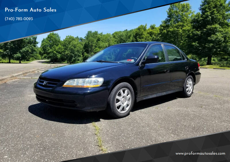 2002 Honda Accord for sale at Pro-Form Auto Sales in Belmont OH
