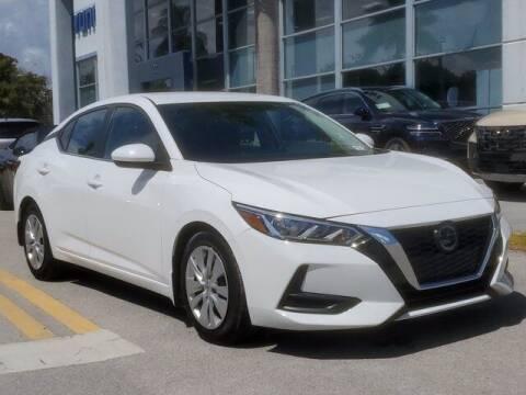 2020 Nissan Sentra for sale at DORAL HYUNDAI in Doral FL