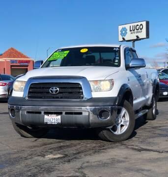 2007 Toyota Tundra for sale at LUGO AUTO GROUP in Sacramento CA