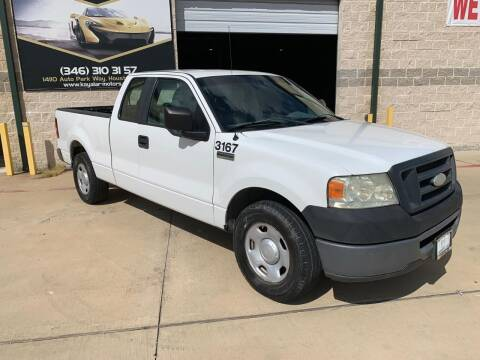 2008 Ford F-150 for sale at KAYALAR MOTORS Mechanic in Houston TX
