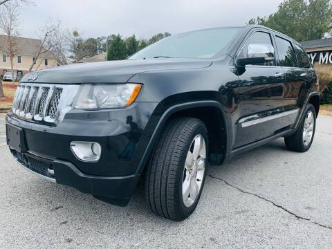 2012 Jeep Grand Cherokee for sale at Classic Luxury Motors in Buford GA