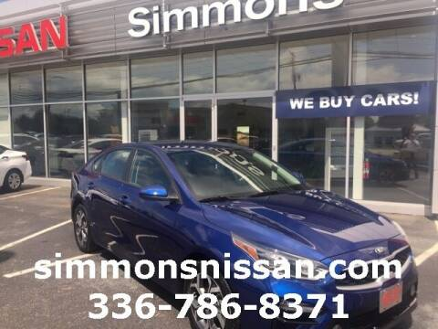 2020 Kia Forte for sale at SIMMONS NISSAN INC in Mount Airy NC