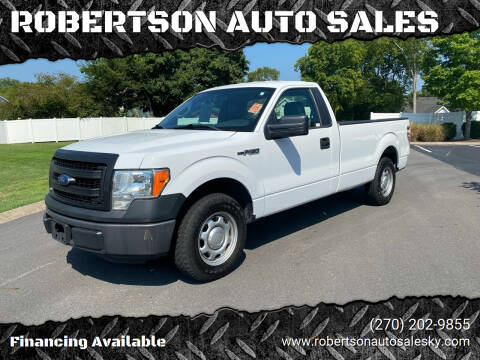 2013 Ford F-150 for sale at ROBERTSON AUTO SALES in Bowling Green KY