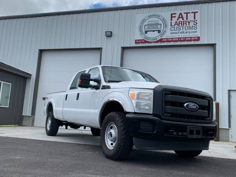 2011 Ford F-350 Super Duty for sale at Fatt Larry's Customs in Sugar City ID