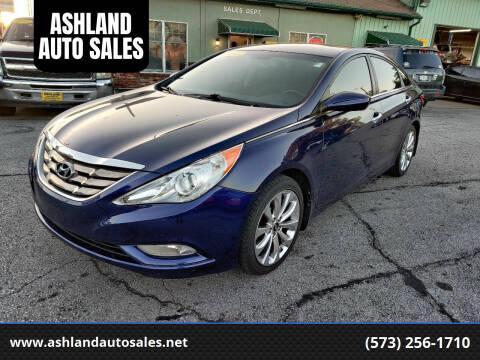 2013 Hyundai Sonata for sale at ASHLAND AUTO SALES in Columbia MO