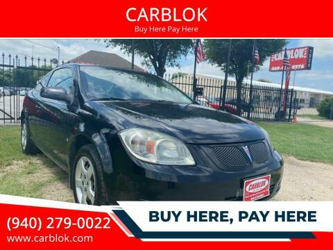 2009 Pontiac G5 for sale at CARBLOK in Lewisville TX