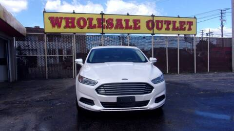 2016 Ford Fusion for sale at LONG BROTHERS CAR COMPANY in Cleveland OH