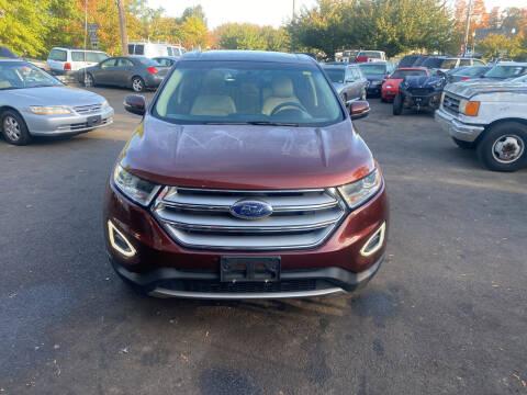 2015 Ford Edge for sale at Vuolo Auto Sales in North Haven CT