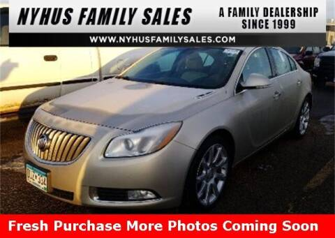 2013 Buick Regal for sale at Nyhus Family Sales in Perham MN